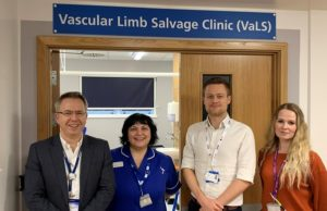 vascular limb salvage clinic in Leicester